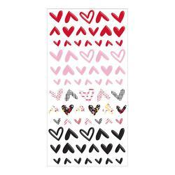 Sweet Nothings Hearts Puffy Stickers