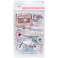 Sweet Project Life Chipboard Stickers - 1
