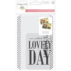 Sweet Project Life Photo Overlays 12 pkg - 1