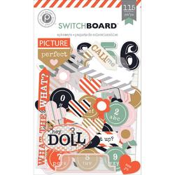 Switchboard Ephemera Die Cuts 115 pkg