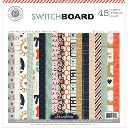 "Switchboard Paper Pad 12""x12"" - 1"
