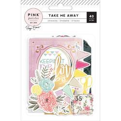 Take Me Away Ephemera Die-Cuts 40/Pkg