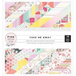 "Take Me Away Life Single-Sided Paper Pad 6""X6"" 36/Pkg"