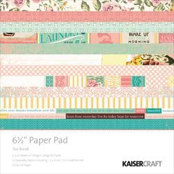 "Tea Break Paper Pad 6.5""x6.5"""