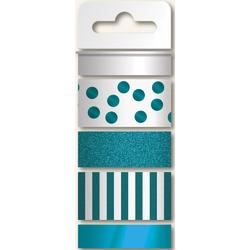 Teals Necessities Decorative Tape 4 Rolls/pkg - 1