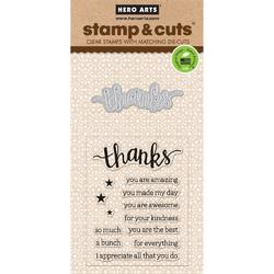 Thanks Clear Stamps & Die