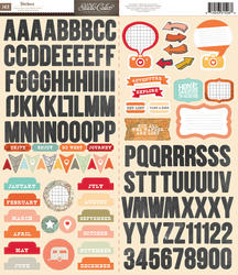 That a Way - Sticker Sheet 6x12 - Studio Calico