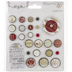 Tinsel  & Company Decorative Brads 25 pkg - 1