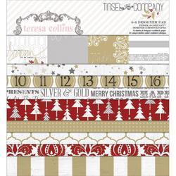 "Tinsel  & Company Paper Pad 6""x6"" 24 pkg - 1"