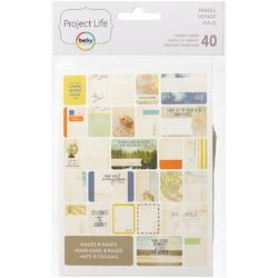 Travel Themed Cards 40 pkg