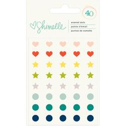 True Stories Enamel Dots 40 pkg
