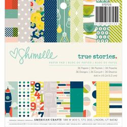 True Stories Paper Pad 6x6 36 Pkg - 1