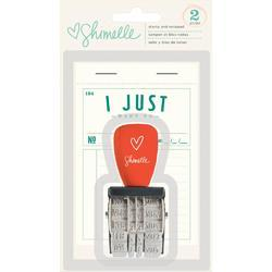 True Stories Phrase Roller Stamp & Notepad - 1