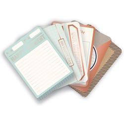 Typecast Copper Foil Cards 12 pkg