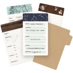 Typecast Mini Card Set 10 pkg