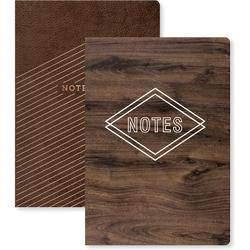 Typecast Notebook wPockets - potisk zlatý - 1