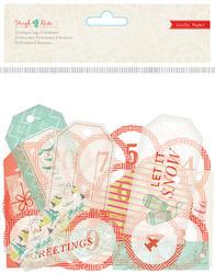 Sleigh Ride - Vellum Embellishments - Crate Paper