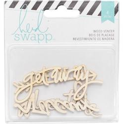 Wanderlust Adventure Wood Veneer Words 4 pkg - 1