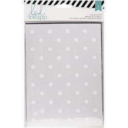 Wanderlust Dots/Silver Rub-On Foil Kit - 1