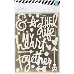 Wanderlust Gold Together Stickers & Foil Kit - 1
