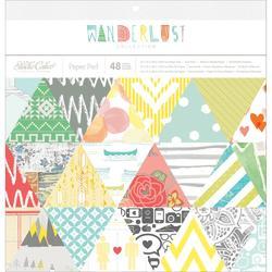 "Wanderlust Paper Pad 12""x12"""