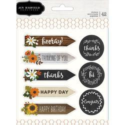 Warm & Cozy Cardstock Stickers