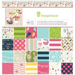 """Welcome Spring Paper Pad 12""""x12"""""""