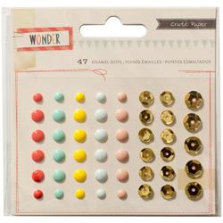 Wonder Enamel Dots & Sequins