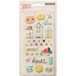 Wonder Puffy Stickers - 1