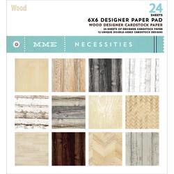 Wood Necessities Paper Pad 6x6 24pkg - 1