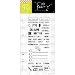Work Planner Clear Stamps - 1