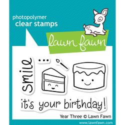 Year 3 Clear Stamps - 1