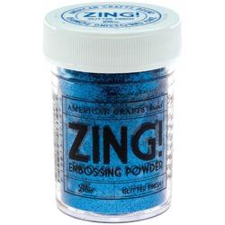 Zing! Glitter Embossing Powder - modrý - 1