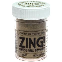 Zing! Mettalic Embossing Powder - zlatý - 1