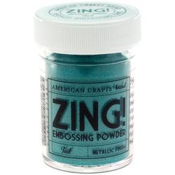 Zing! Mettalic Embossing Powder – zeleno/modrá - 1