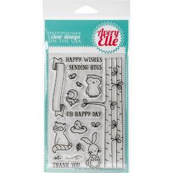 Woodland Wonders Clear Stamps - 2