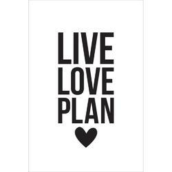 Carpe Diem Small Planner Decal LIVE LOVE PLAN - 2