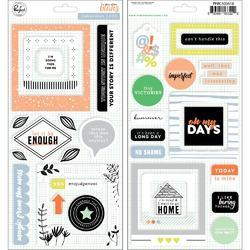 "Case Of The Blahs Stickers 5.5""X11"" 2/Pkg - 2"