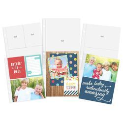 "Sn@p! Variety Pack Insta Pocket Pages For 6""x8"" Binders 12 pk - 2"