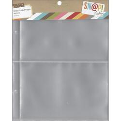 """Sn@p! Pocket Pages For 6""""x8"""" Binders 10 pkg a - 2"""