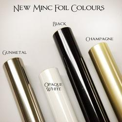 """Minc Reactive Foil 12,25""""x5' Roll - Opaque White - 2"""