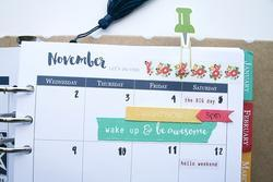 Day 2 Day Planner Washi Tape - Note This - 2