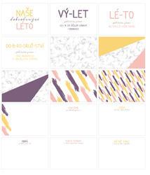 Léto PL kartičky 6x4 (Design A) - 2