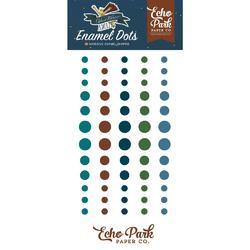 Adventure Awaits Enamel Adhesive Dots 60/Pkg - 2
