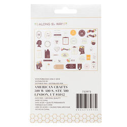 Along The Way Ephemera Cardstock Die-Cuts 40/Pk - 2