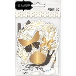 Along The Way Ephemera Icons Cardstock Die-Cuts 40/Pk - 2