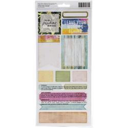 Art Walk Cardstock Stickers 43/Pkg - 2