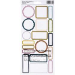 Care Free Cardstock Stickers 49/Pkg - 2