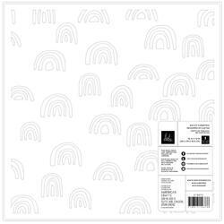 "Care Free Die-Cut Cardstock Specialty Paper 12""X12"" - 2"