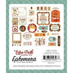 Celebrate Autumn Cardstock Icons Die-Cuts 33/Pkg - 2